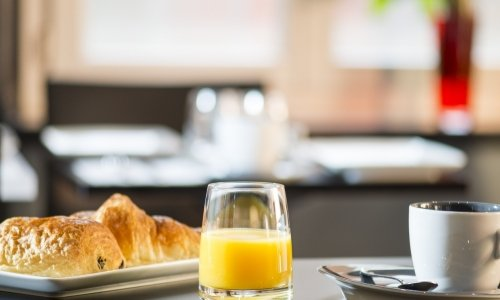 Book your stay with breakfast included